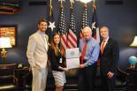 Beau Durham with Congressman Neugebauer and Staff